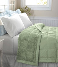 Ultraplush Sateen Blanket, PrimaLoft-Filled