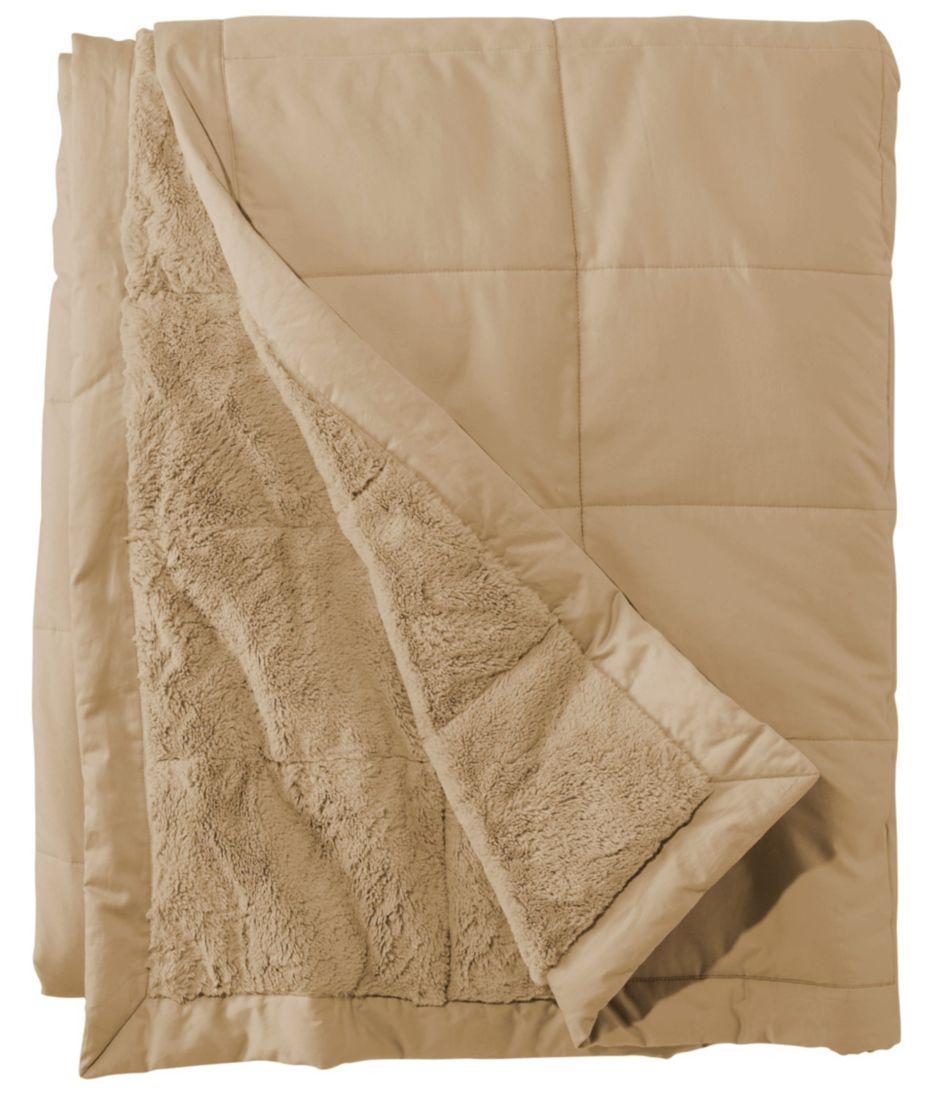 Ultraplush Sateen Blanket, PrimaLoft-Filled