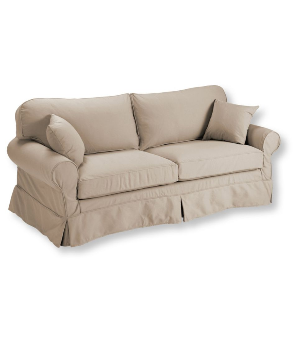 Pine Point Sleeper Sofa and Slipcover