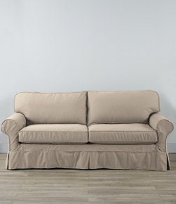 Pine Point Sleeper Sofa and Slipcover