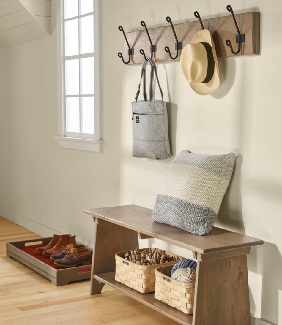 Rustic Wooden Wall Rack