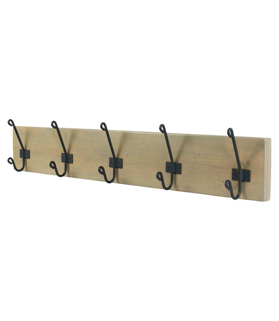 Rustic Wooden Wall Rack