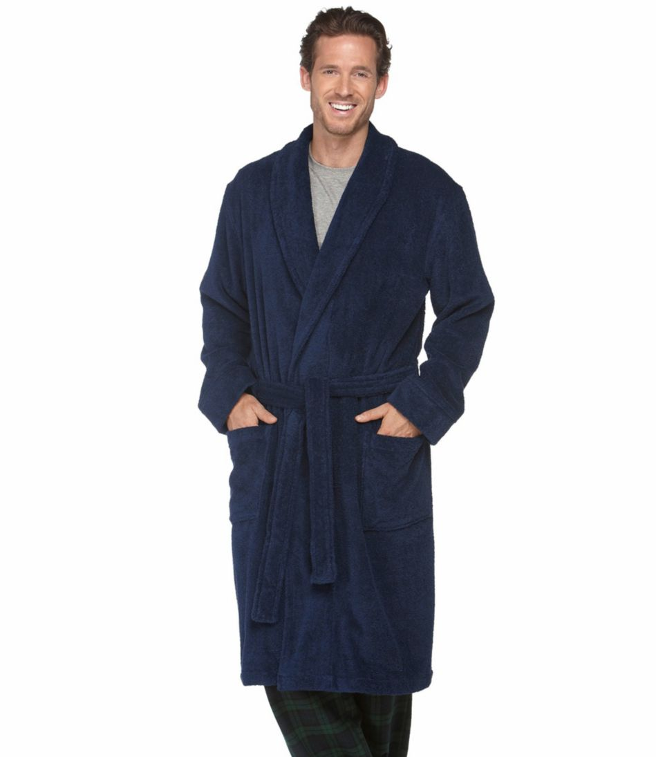 Men's Terry Cloth Robe