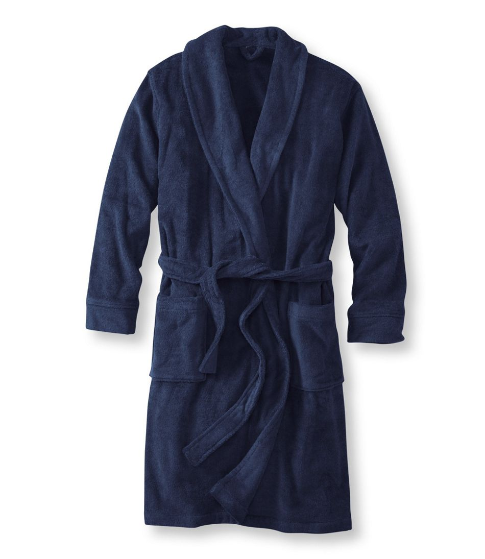 men 39 s terry cloth robe. Black Bedroom Furniture Sets. Home Design Ideas