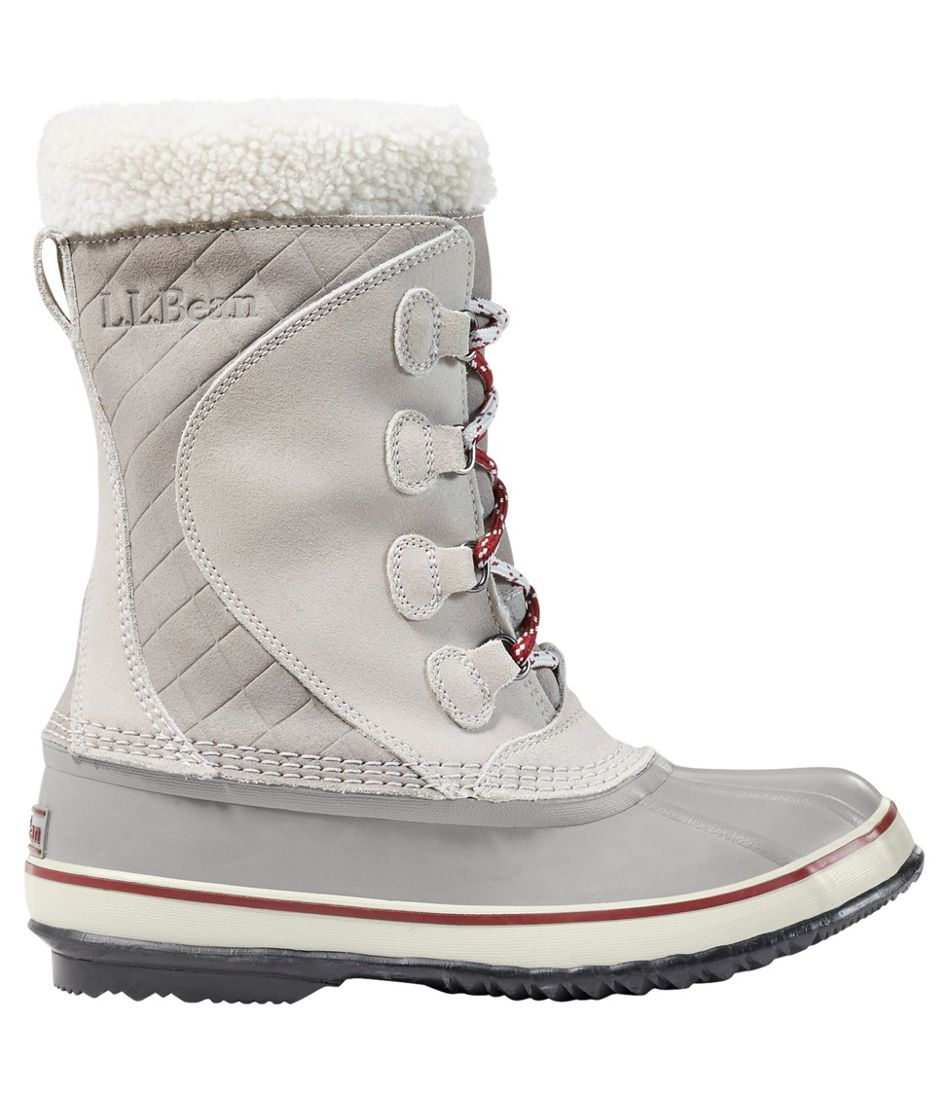 Women S L L Bean Snow Boots Lace Up