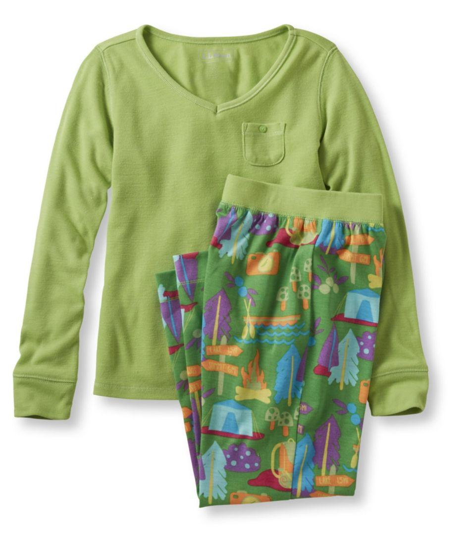 Girls' Jersey-Knit PJ Set