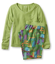 Girls' Jersey-Knit PJ Set