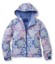 Girls' Snowscape Jacket, Print