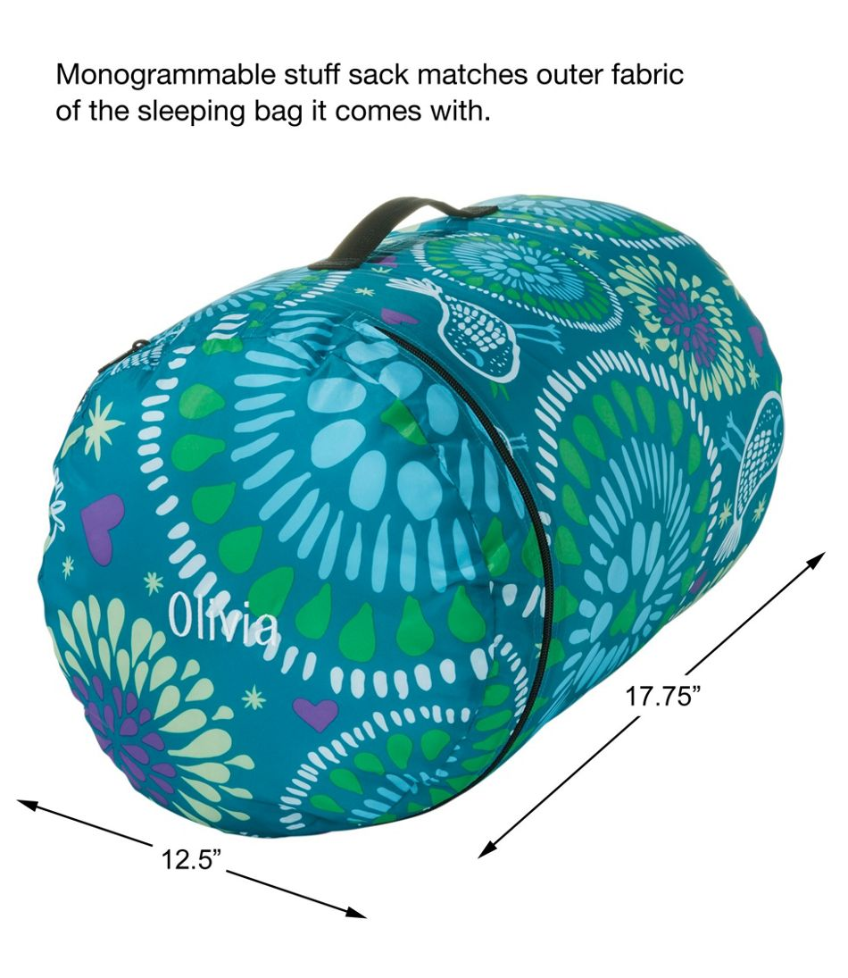 Kids' Camp Sleeping Bag, Graphic 40°