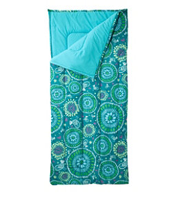 Camp Sleeping Bag, Kids' Graphic 40°