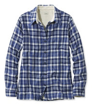 Women's Fleece-Lined Flannel Shirt