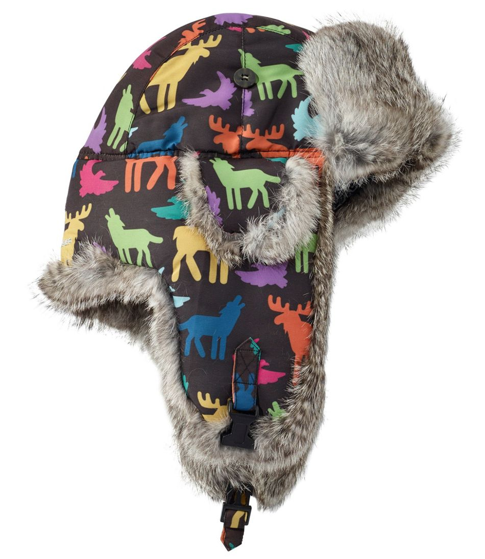 Kids' Mad Bomber Hat, Print