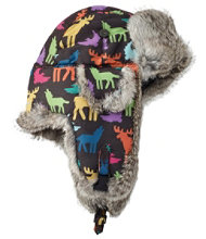 Kids' Mad Bomber Hat, Print