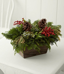 Woodland Canella Berry Centerpiece, Regular