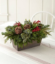 Woodland Canella Berry Centerpiece, Large