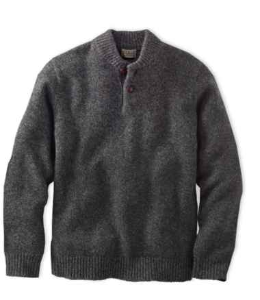 Men's L.L.Bean Classic Ragg Wool Sweater, Henley