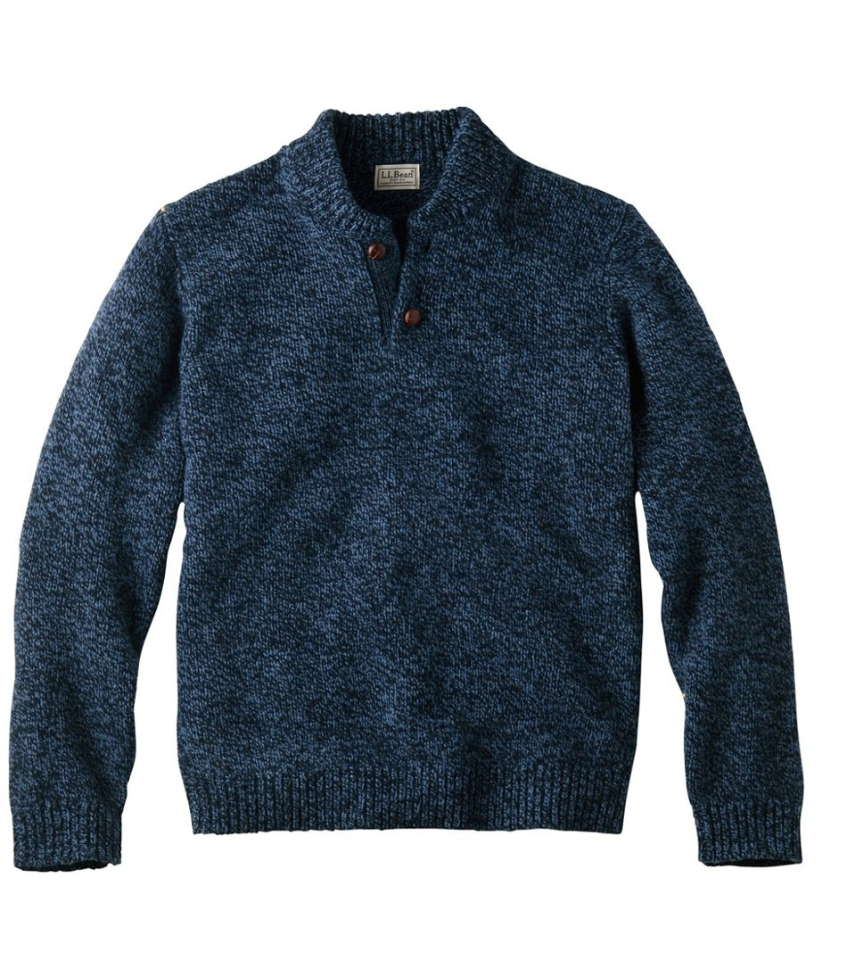 Men's L.L.Bean Classic Ragg Wool Sweater, Henley