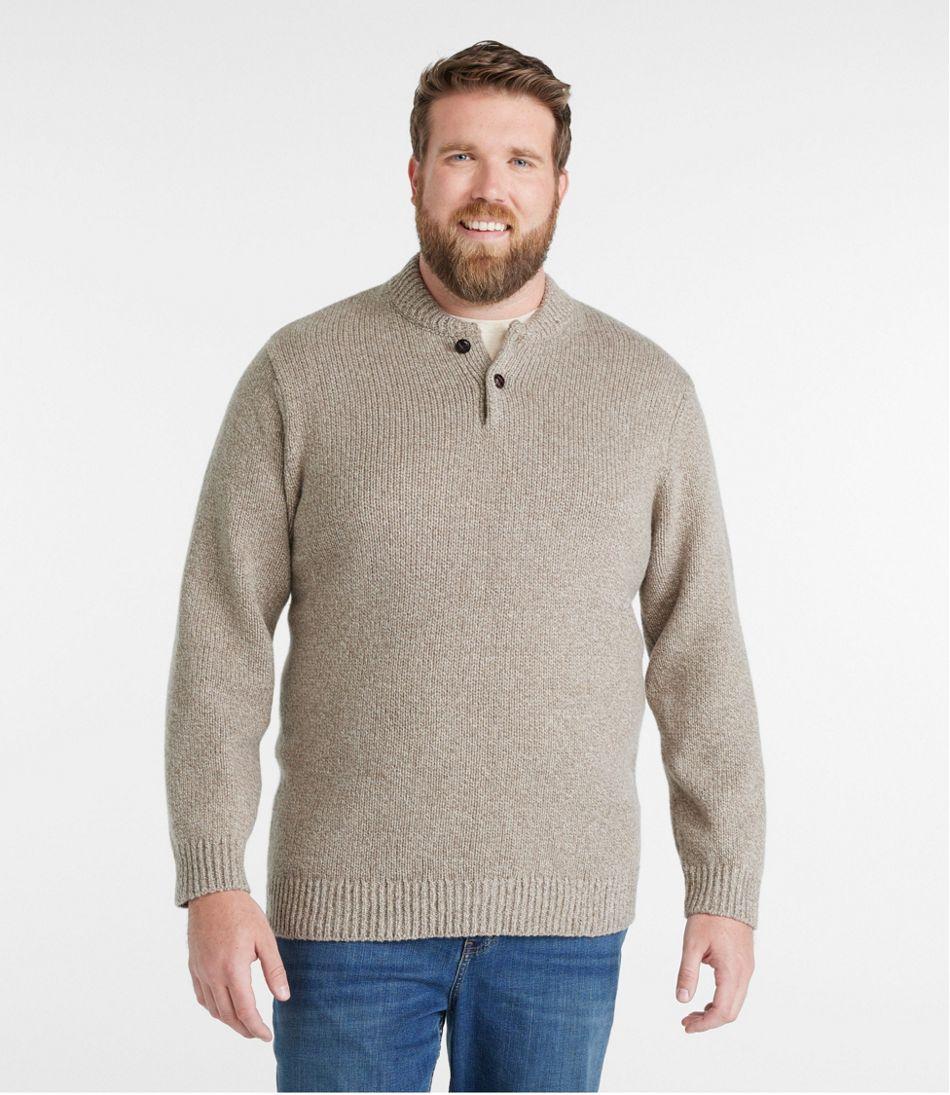 L.L.Bean Classic Ragg Wool Sweater, Henley