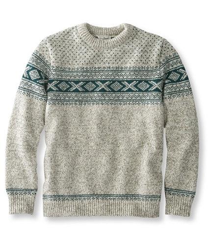 Heritage Sweater, Norwegian Crewneck Pattern