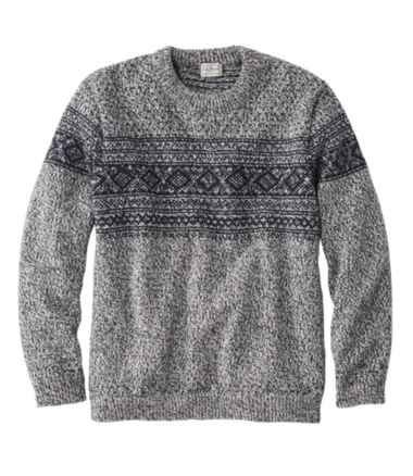 Heritage Sweater, Norwegian Crewneck Pattern