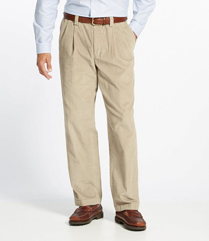 Men's Country Corduroy Trousers, Hidden Comfort Waist Pleated ...