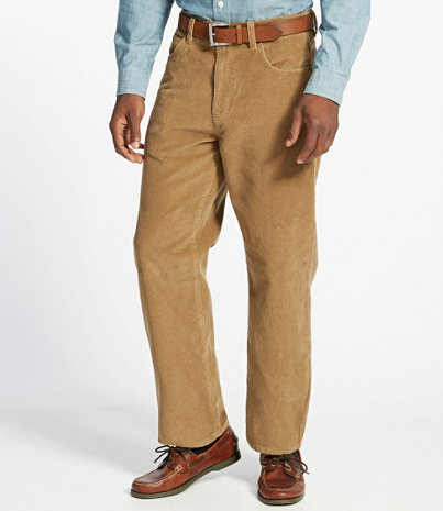 Men's L.L.Bean 1912 Pants, Corduroy Natural Fit | Free Shipping at ...