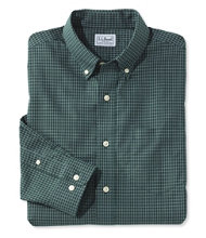 Wrinkle-Free Mini-Check Shirt, Traditional Fit