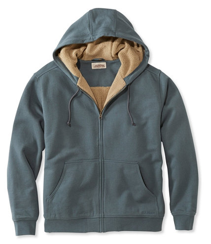 men 39 s katahdin iron works heavyweight hooded sweatshirt traditional fit free shipping at l l bean. Black Bedroom Furniture Sets. Home Design Ideas