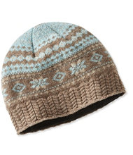 Heritage Wool Hat, Fair Isle