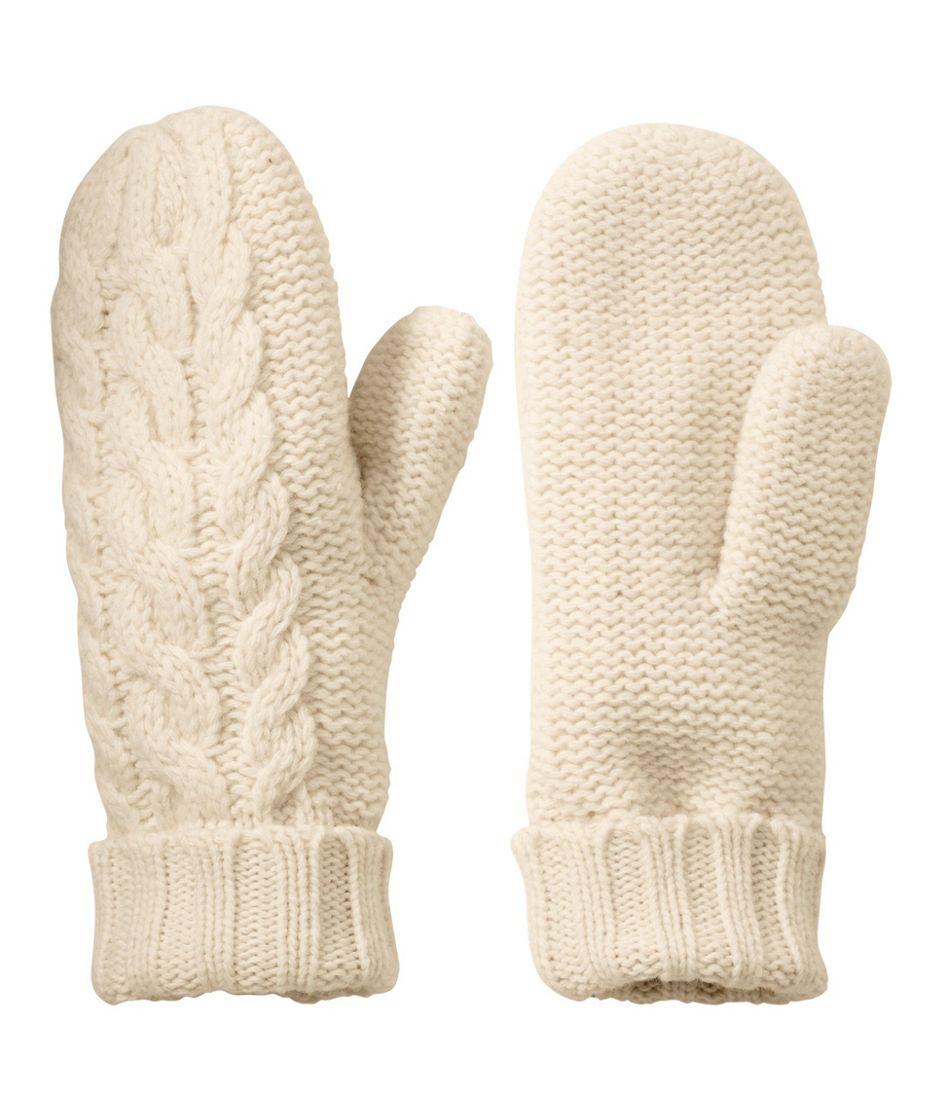 Womens Heritage Wool Mittens-2539