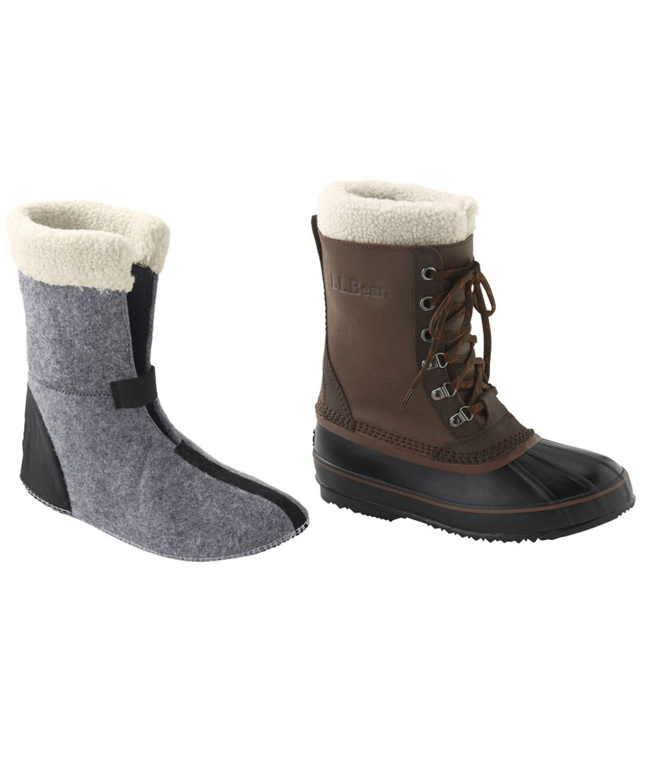 Men's L.L.Bean Snow Boot Liners