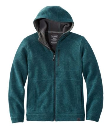 Men's Wool Tek Hooded Jacket