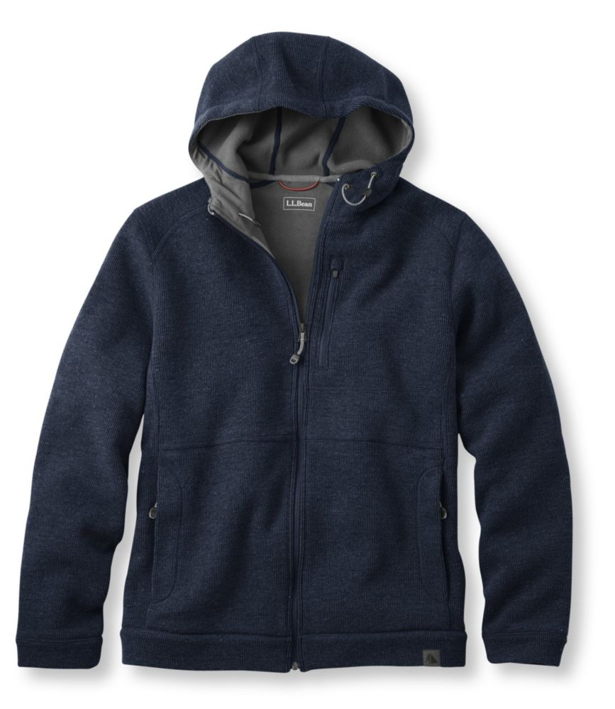 L.L.Bean Wool Tek Hooded Jacket