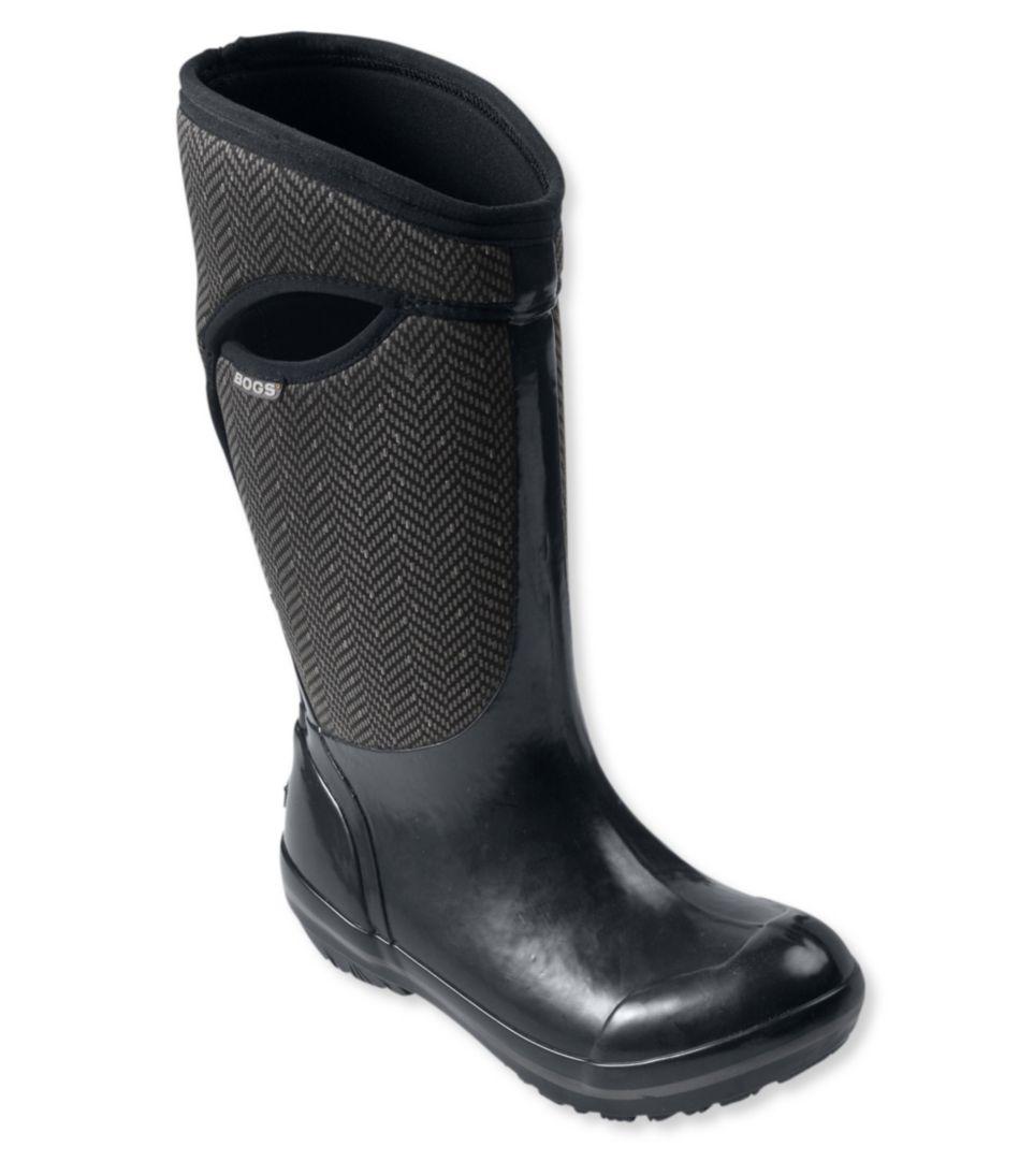 Bogs Tall Boots, Herringbone