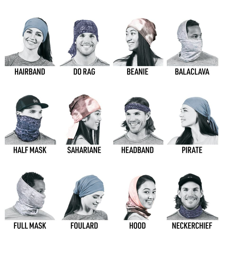 Adults' Buff Polar Reversible Headwear