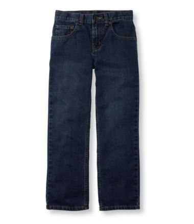 Boys' Double L® Straight Leg Jeans, Unlined