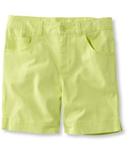 Girls' Stretch Twill Shorts