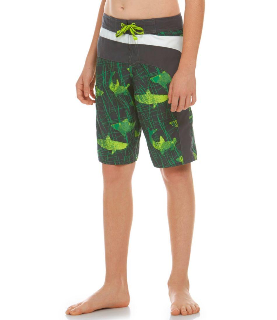 Boys' Riptide Board Shorts, Colorblock