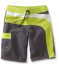 Boys Riptide Board Shorts, Colorblock