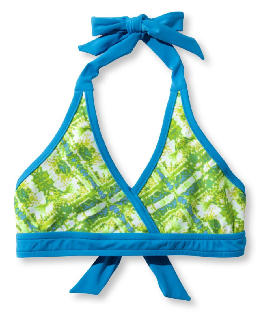 Girls' BeanSport Bikini Top, Print