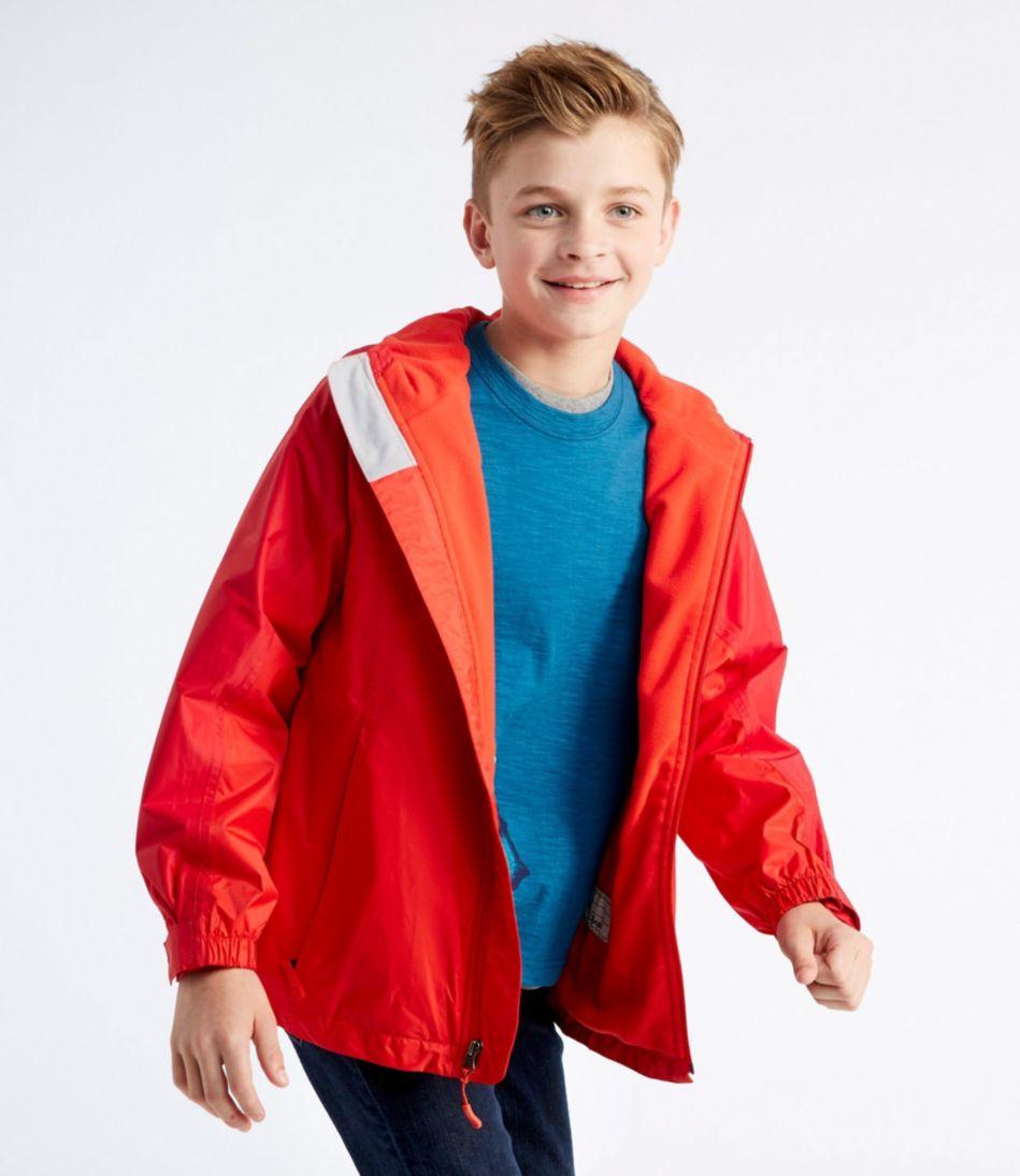 Kids' Trail Model Rain Jacket, Lined
