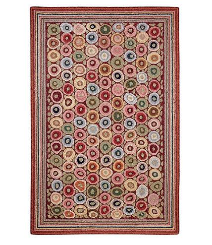 wool hooked rug coins l l bean. Black Bedroom Furniture Sets. Home Design Ideas