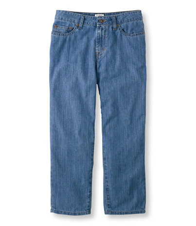 Lightweight Denim Cropped Jeans | Free Shipping at L.L.Bean
