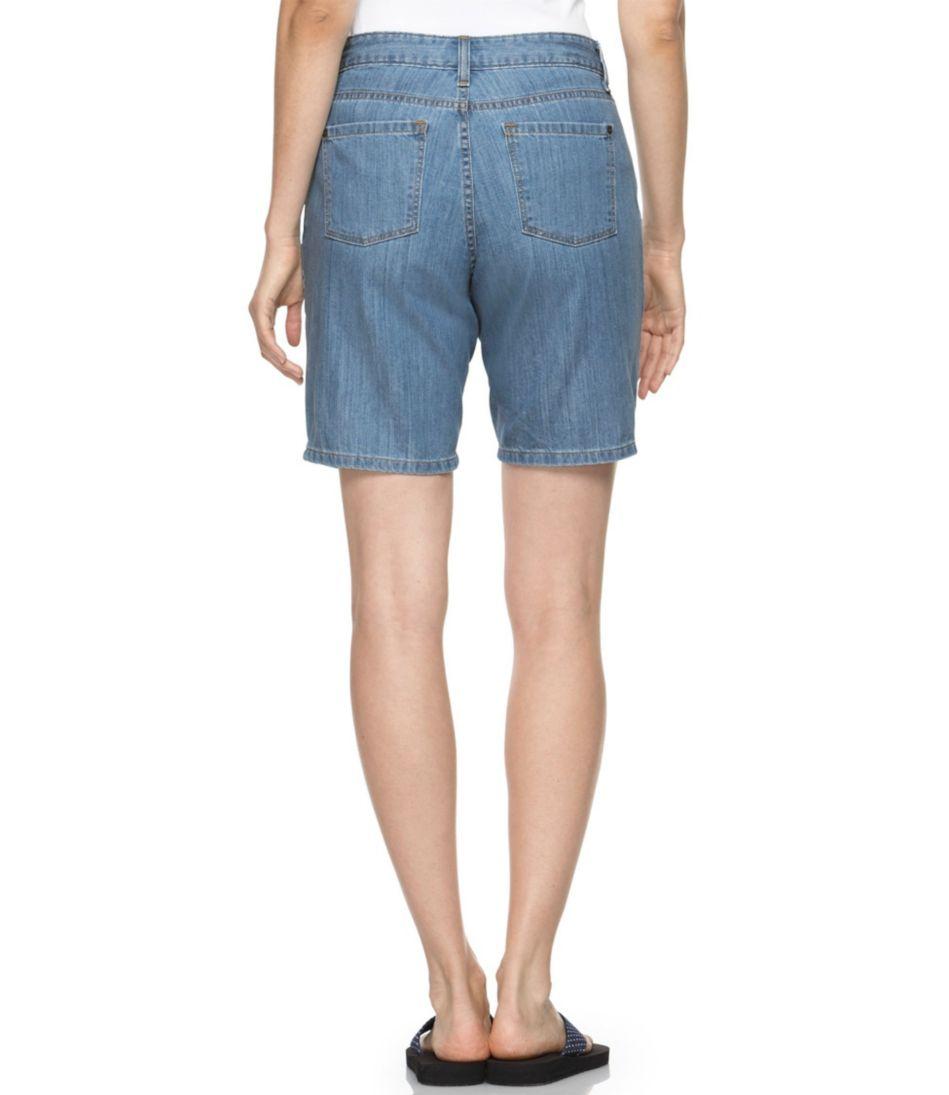 Lightweight Denim Shorts