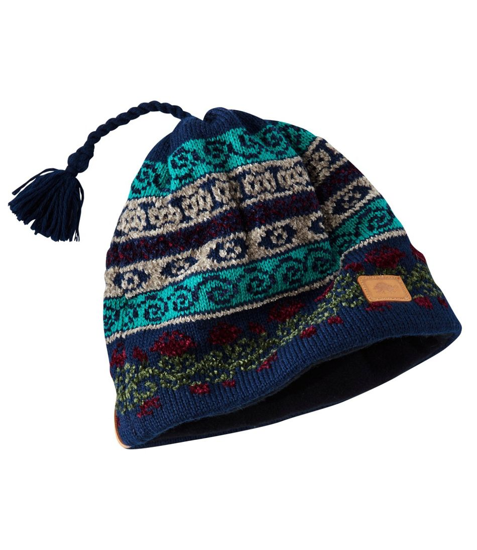 Women's Turtle Fur Hat, Lady Fair Isle