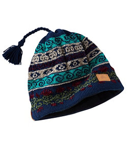 Women's Turtle Fur Hat, Lady Fair Isle