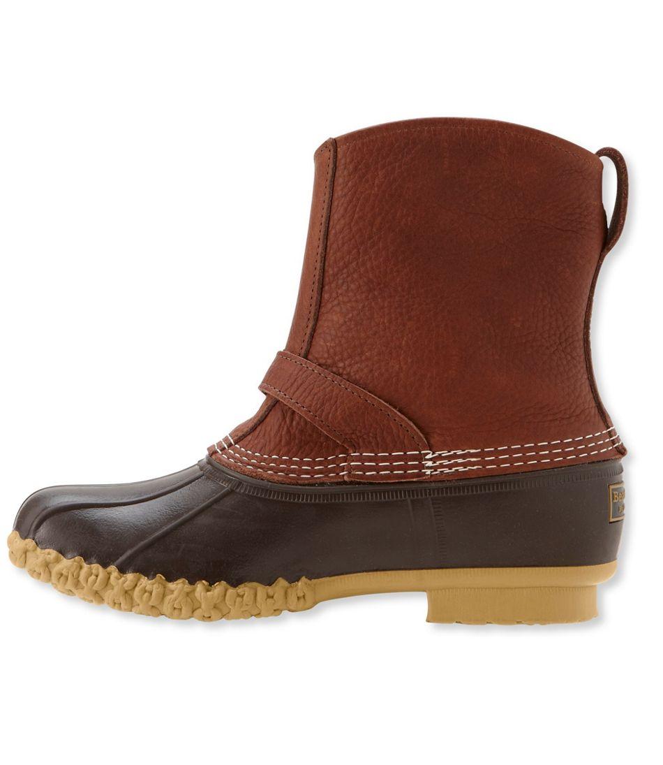 "Men's Tumbled-Leather L.L.Bean Boots, 9"" Lounger"