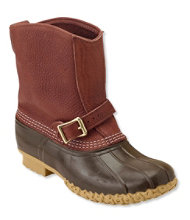 "Men's Tumbled-Leather L.L.Bean Boots, 9"" Lounger"