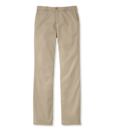 Washed Chinos, Straight-Leg Pants