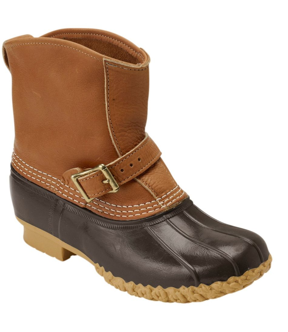"""Tumbled-Leather L.L.Bean Boots, 7"""" Lounger"""
